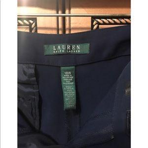 Lauren Ralph Lauren Navy Career pants/trousers 18W